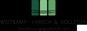 Logo Weitkamp, Hirsch und Kollegen Steuerberatungsgesellschaft mbH